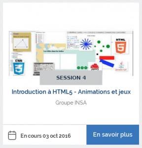 MOOC Introduction à HTML5