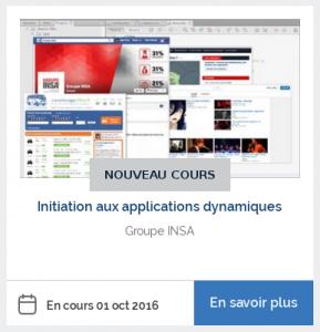 MOOC Initiation aux applications dynamiques